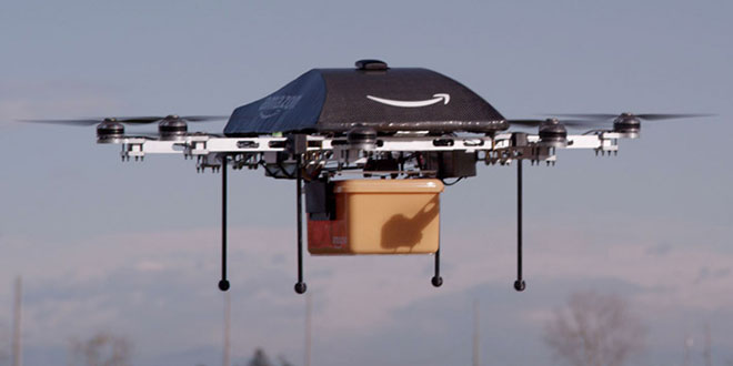 drona Amazon Prime Air