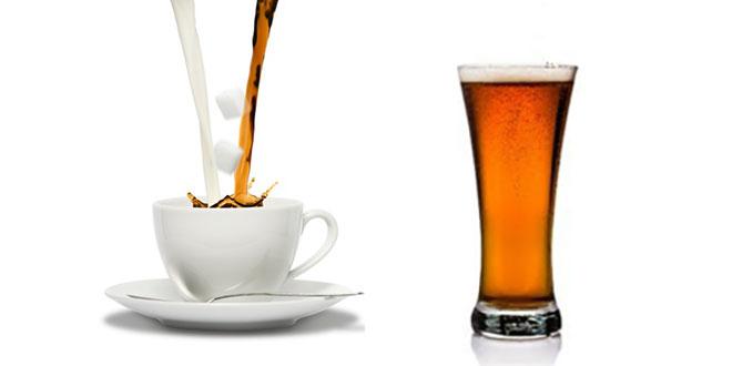 Cafea sau bere