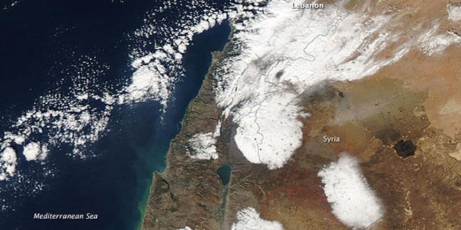 Zăpadă în Orientul Mijlociu