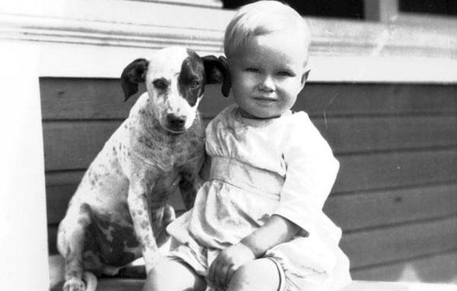 Câinii sunt un beneficiu pentru copii? / imagine  State Library and Archives of Florida