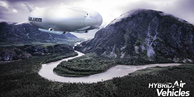 Airlander Hybrid Air Vehicles