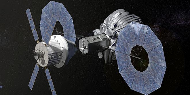 Naveta Orion capturează un asteroid