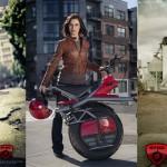 RYNO – motocicleta electrică cu o roată