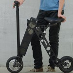 URB-E – cel mai compact scuter electric