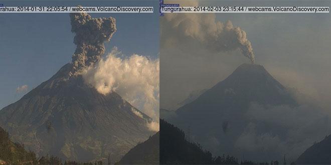 Vulcanul Tungurahua