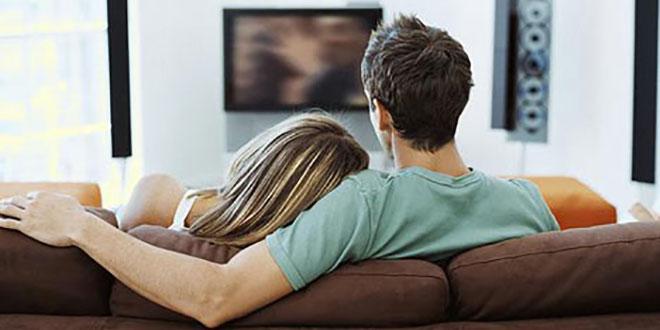 cuplu la tv