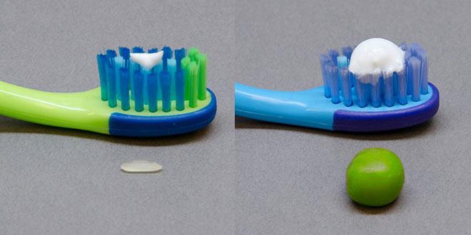 pasta de dinti pentru copii