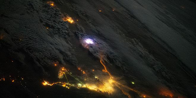 ISS lightning