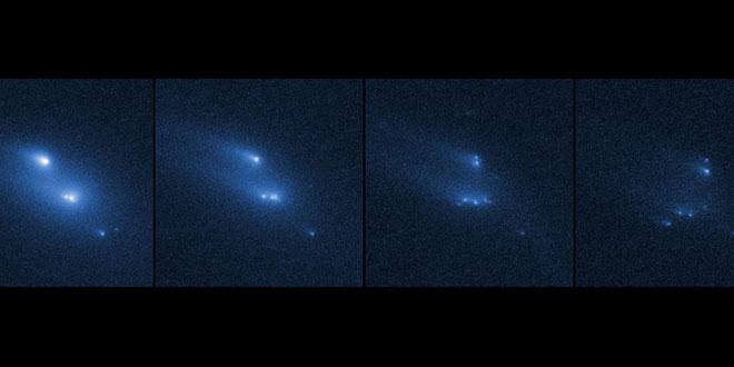 Asteroidul P/2013 R3