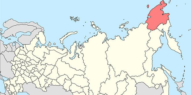 Regiunea Chukotka din Siberia