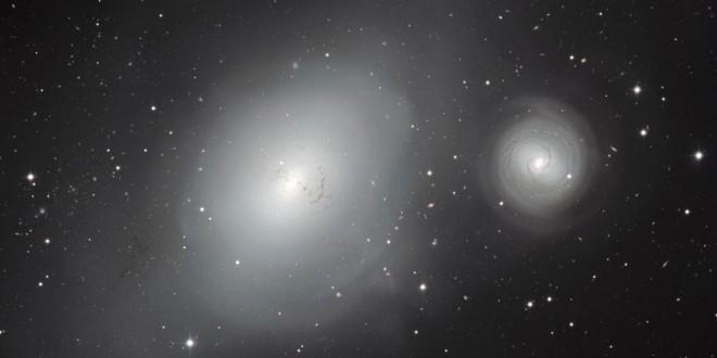 NGC 1316 și NGC 1317
