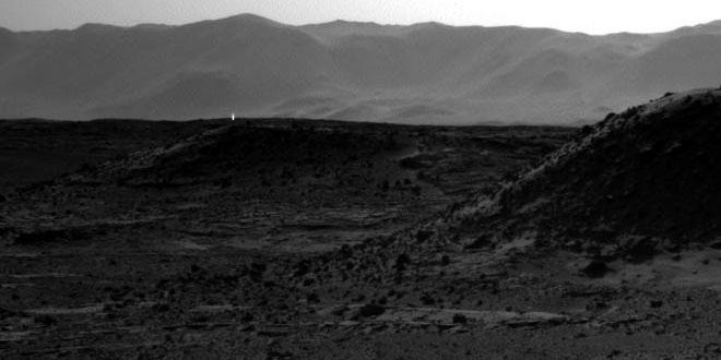 Un punct luminos pe Marte