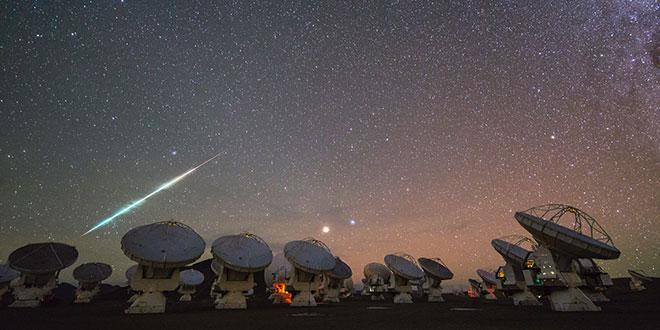 meteorit ALMA