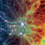 Evoluția Universului de la Big Bang recreată într-o simulare computerizată