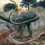 Leinkupal laticauda – un dinozaur cu gât lung unic