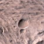 Imaginile săptămânii – Cel mai mare crater nou de pe Marte
