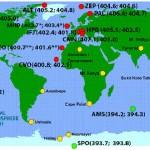 Concentrația de CO2 din atmosferă atinge valori record