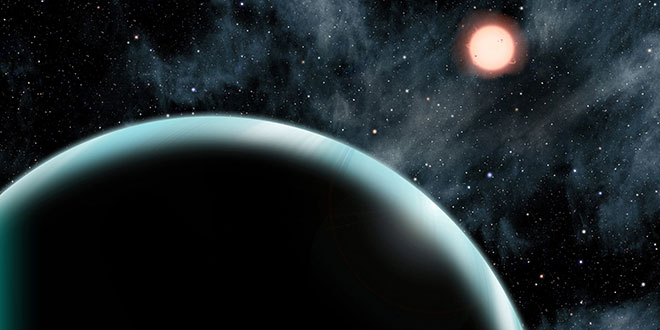Kepler-421b are cel mai lung an / ilustrație David A. Aguilar (CfA)
