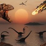 Dispariția dinozaurilor cauzată de o serie de evenimente nefericite