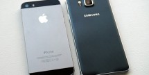 Galaxy Alpha vs iPhone 5S