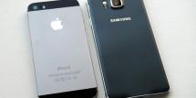 Galaxy Alpha vs iPhone 5S