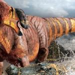Rhinorex condrupus, un hadrozaur cu nasul mare