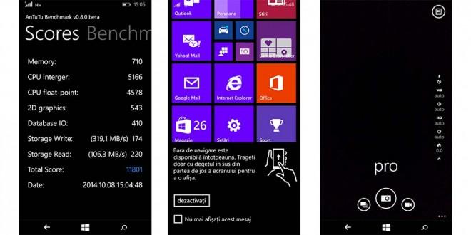 Lumia 735 AnTuTu