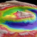 Craterul Gale, Muntele Sharp și rocile sedimentare pe Marte