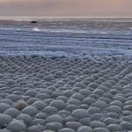 Sfere de gheață în Golful Finlandei