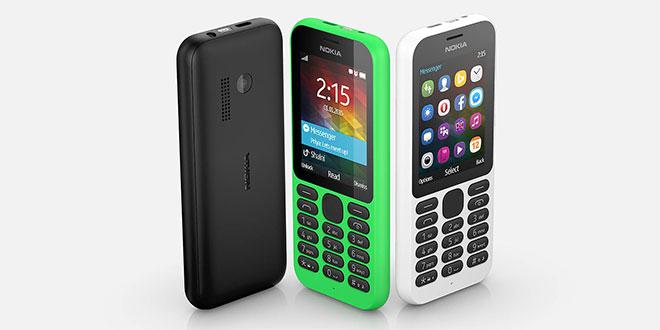 Nokia 215 colours