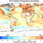 2014 – cel mai călduros an înregistrat vreodată
