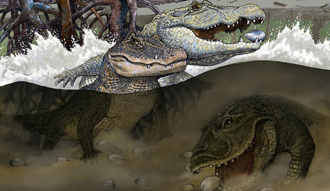 crocodilieni preistorici