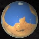 Oceanul de pe Marte era mai mare decât Oceanul Arctic