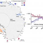 Antarctica își pierde rapid gheața