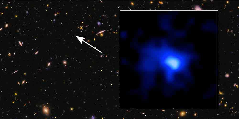 cea mai indepartata galaxie