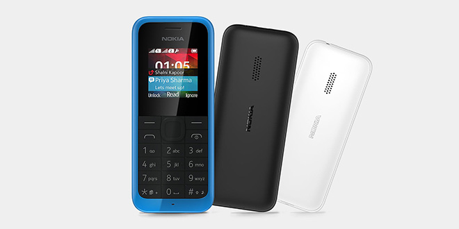 Nokia 105 Dual-SIM