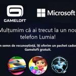Switch Gift – cadou Gameloft și Microsoft sub formă de credite gratuite
