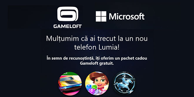 cadou Gameloft