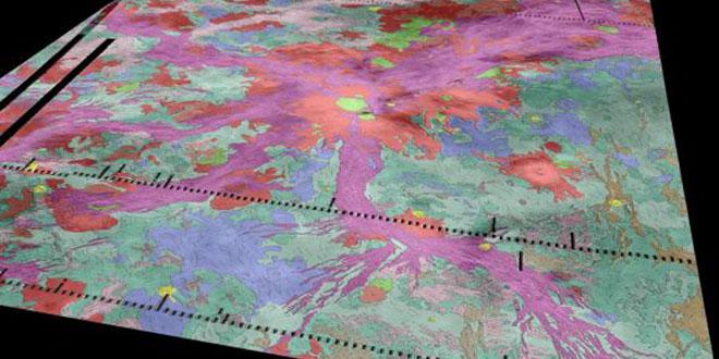 vulcani activi Venus
