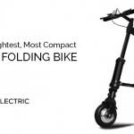 A-Bike Electric – o bicicletă electrică pliabilă și ușoară