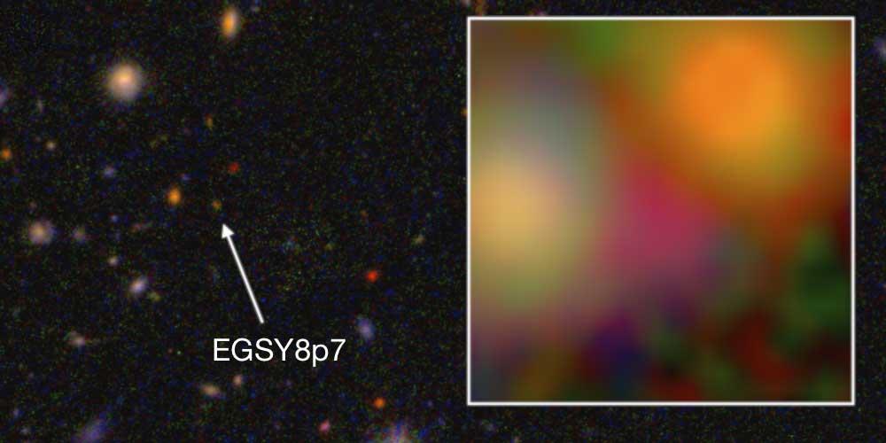 cea mai îndepărtată galaxie