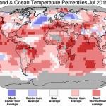 Iulie 2015, cea mai caldă lună înregistrată vreodată