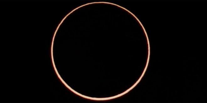 eclipsă inelară