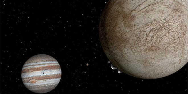 Europa, Jupiter
