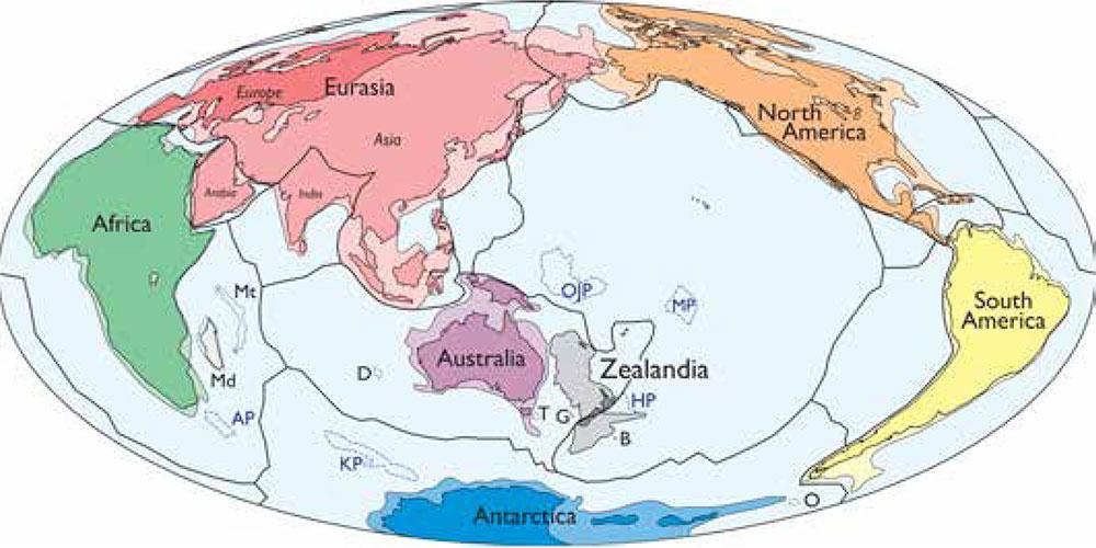 Continentele Pământului