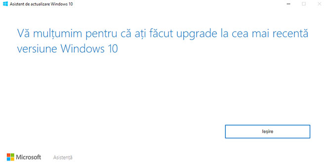 Windows 10 FCU