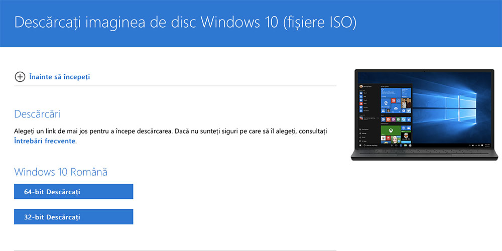 ISO Windows 10 2018