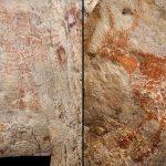 Picturi rupestre paleolitice descoperite în Borneo (video)